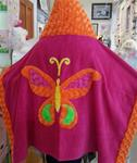 Bright Butterfly toddler Towel