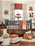 Carson 3Pc Set (Includes quilt, cowboy print sheet, crib skirt)