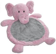 Baby Elephant Mat in Pink