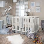 Luna 3Pc Set (quilt, sheet, crib skirt)