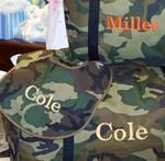 Green Camo Travel Bags 3 sizes!