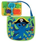 Octopus Beach Toy Tote