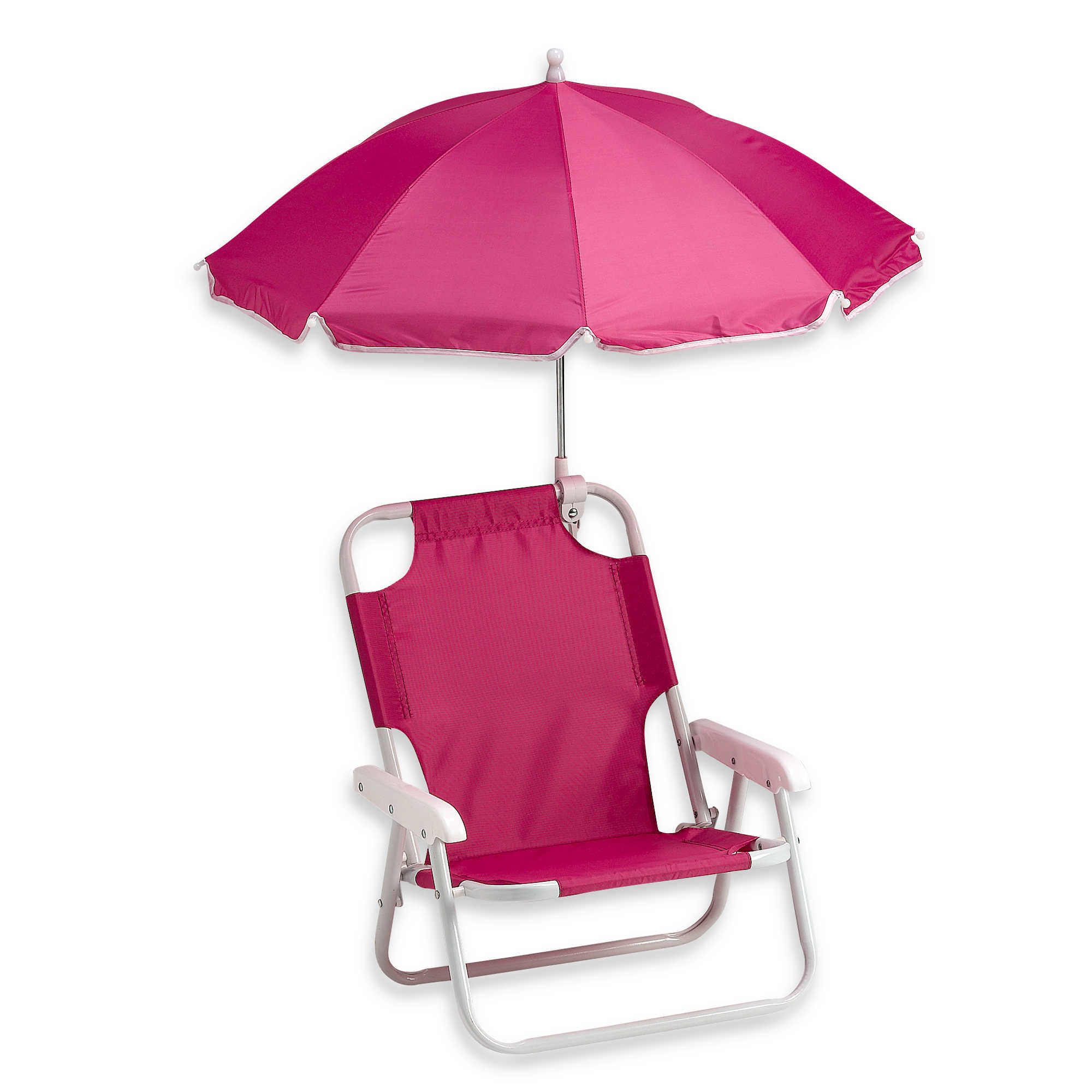 Folding Beach Chair with Umbrella Purple Pumpkin Gifts