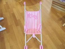 Personalized Pink Umbrella Stroller for doll