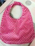 Hot Pink Dot Bib