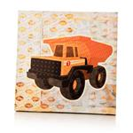 "Echo  Wall Art - Dump Truck Canvas (16x16x1.5"")"