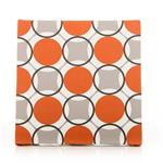 "Echo  Wall Art - Circles (14x14x1.5"") fabric covered"