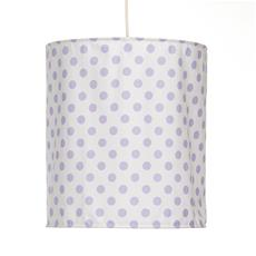 "Fiona Hanging Drum Shade - Large Dot (14Wx16""T) 60 Watt  15' Cord"