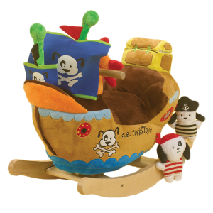 Doggie Pirate Ship Rocker