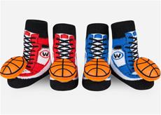 Basketball Rattle Sock Set