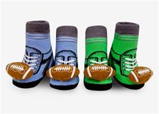 Football Rattle Sock Set