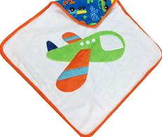Airplane Hooded Infant Towel