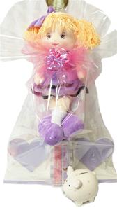 Baby Girl Bookends Gift Package