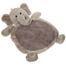 Grey Elephant Baby Mat