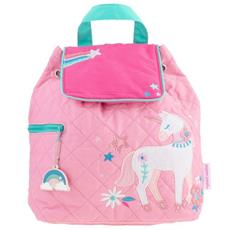 Unicorn Pink Quilted Backpack