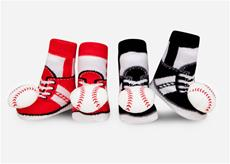Baseball Rattle Sock Set