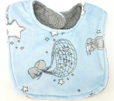 Blue Up and Away Bib