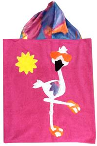 Funky Flamingo Toddler Towel
