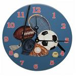 Little Athlete Painted Clock
