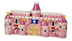 Pink Castle Menorah