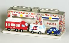 Rescue Trucks Menorah