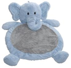 Baby Elephant Mat in Blue