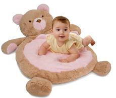 Baby Bear Mat in Pink