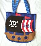 Pirate Beach Toy Tote