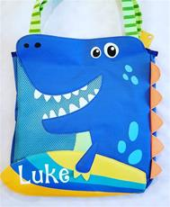 Dino Beach Toy Tote