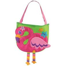 Flamingo Beach Toy Tote