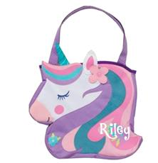 Unicorn Beach Toy Tote