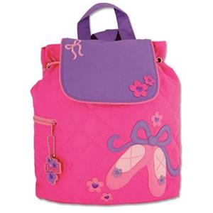 Quilted Backpack - Ballet