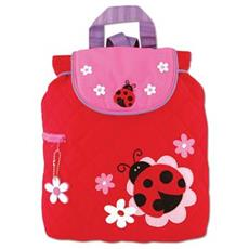 ladybug Quilted Backpack