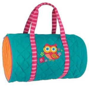 Owl Quilted Duffle