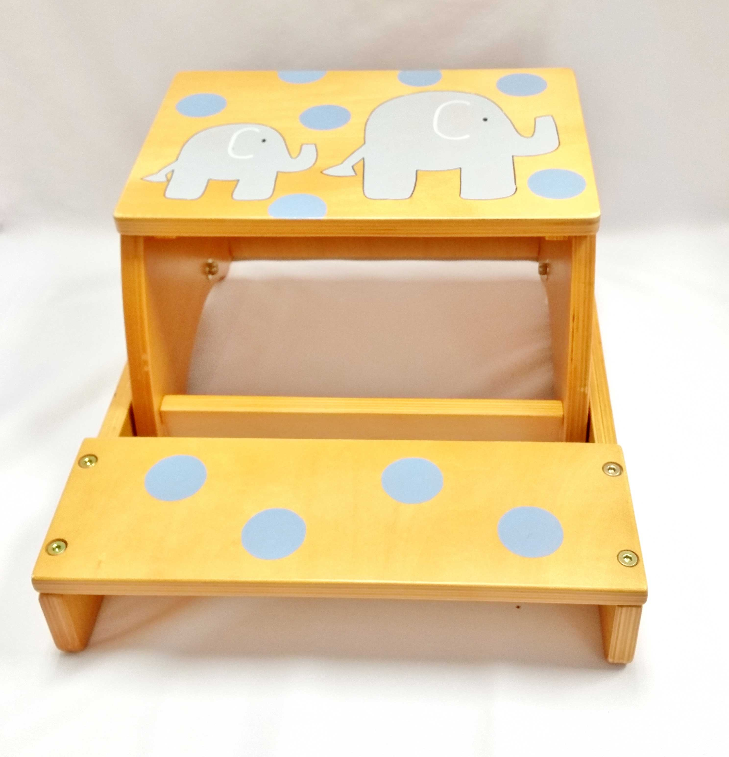 Deluxe Boy Step Stool Package Purple Pumpkin Gifts